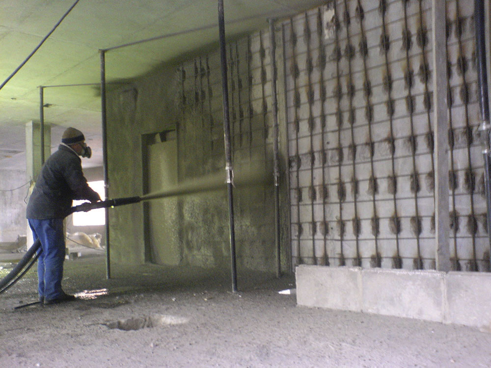торкретирование - набрызг-бетон 2