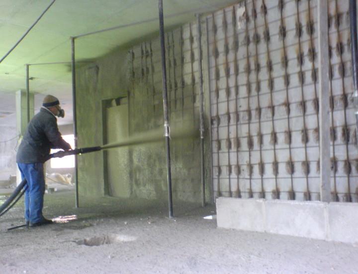 Набрызг-бетон